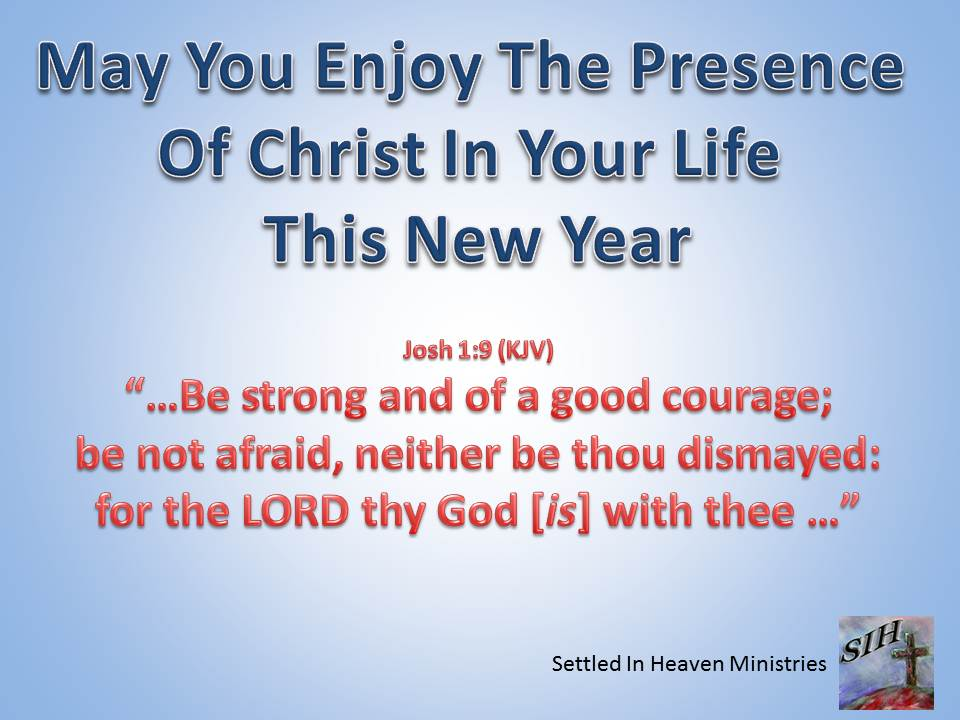 New Years Day « Settled In Heaven Blog
