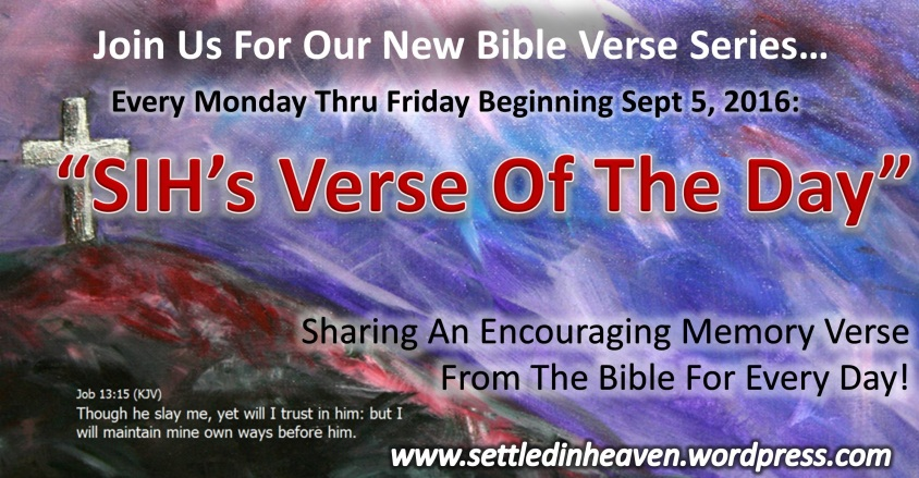 SIHs Verse Of The Day Promo